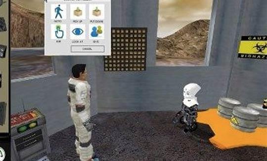 Mars Escape Game